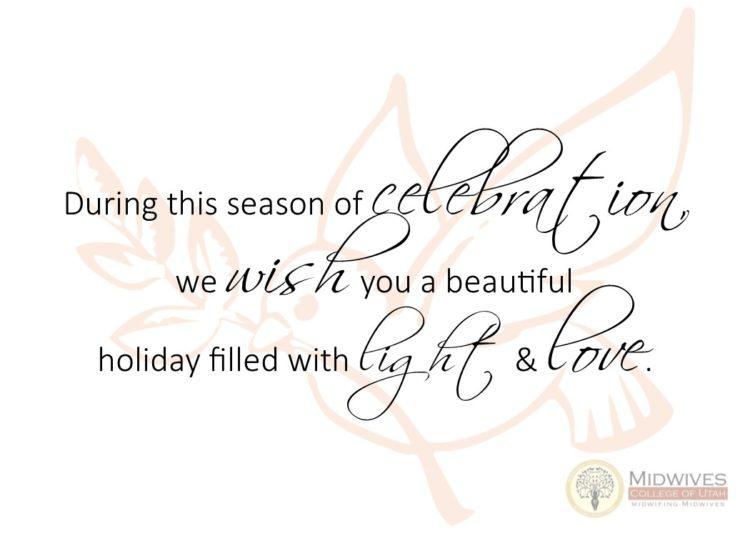 Season of Celebration