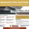 Graduate level Elective Courses